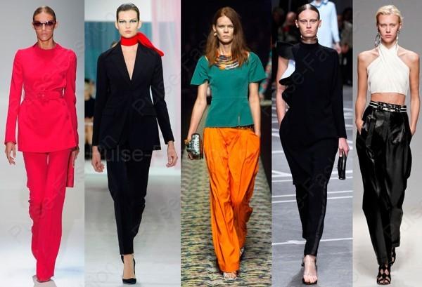 Модные женские штаны весна-лето 2017