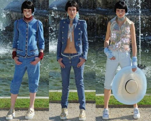 дамские джинсы 2018 Chanel