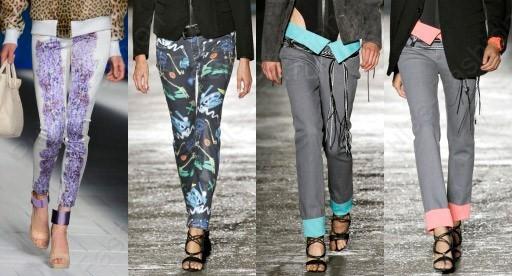 дамские джинсы 2020